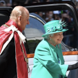 Queen Elizabeth and Prince Philipe