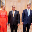 Queen Maxima, the President of Costa Rica, King Willem-Alexander