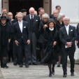 The funeral of Baron Niclas Silvfverschiöld