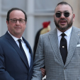 President Hollande and King Mohammed