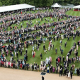 The first garden party of the year at Buckingham Palace