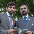 Sheikh Mohammed and Sheikh Hamdan