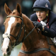 Zara Tindall and her mount Toytown