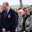 The Duke of Cambridge and Princess Astrid of Belgium