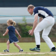 Mia Tindall and Prince William