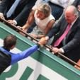 King Juan Carlos and Rafael Nadal