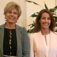 Princess Laurentien and Princess Marie