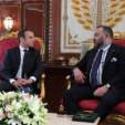 President Macron of France and King Mohammed VI of Morocco