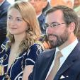Hereditary Grand Duchess Stephanie and Hereditary Grand Duke Guillaume