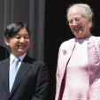 Crown Prince Naruhito and Queen Margrethe