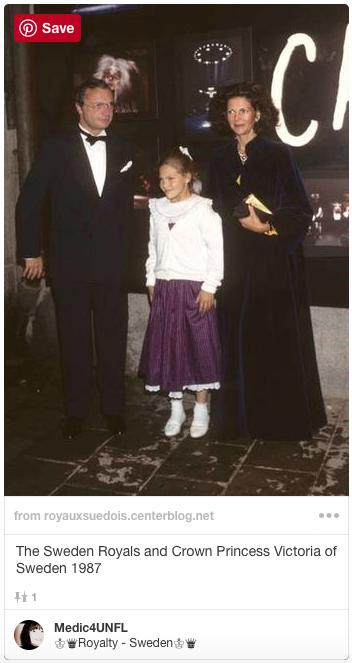 Crown Princess Victoria in 1987