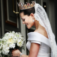 Crown Princess Victoria on her wedding day