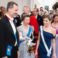 King Felipe and Queen Letizia with Princess Anne