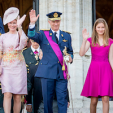 Queen Mathilde, King Philippe and Princess Elisabeth