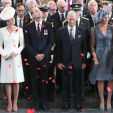 The Duke and Duchess of Cambridge and the King and Queen of the Belgians