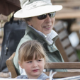 Mia Tindall and Princess Anne