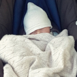 The newborn Swedish Prince