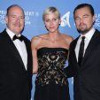 Prince Albert, Princess Charlene and Leonardo DiCaprio