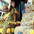 The Sultan and Queen of Brunei