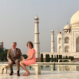 The King and Queen of the Belgians in India