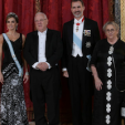 The King and Queen of Spain with the President and First Lady of Israel