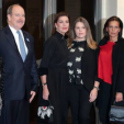 Prince Albert, Princess Caroline, Camille Gotlieb and Princess Stephanie
