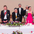 Grand Duke Henri, Emperor Akihito and Princess Alexandra