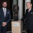 Hereditary Grand Duke Guillaume and Grand Duke Jean