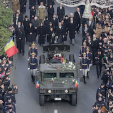 The funeral of King Michael of Romania