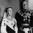 Queen Louise and King Gustaf VI Adolf of Sweden, 1956