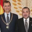 King Felipe of Spain and King Mohammed of Morocco