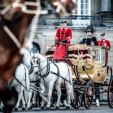 The Golden Coach of the Danish Royal Family