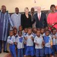 Prince Albert and Princess Charlene in Burkina Faso