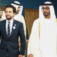 Crown Prince Hussein of Jordan and Sheikh Mohammed bin Zayed