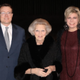 Prince Constantijn, Princess Beatrix and Princess Laurentien