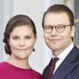 Crown Princess Victoria and Prince Daniel of Sweden