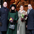 The Duke and Duchess of Cambridge and Crown Princess Victoria and Prince Daniel of Sweden