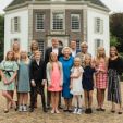 Princess Beatrix at 80 with her family