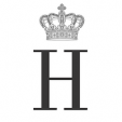 Monogram of Prince Henrik of Denmark