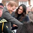 Prince Harry and Meghan Markle in Edinburgh