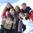 The Dutch Royal Family in Lech