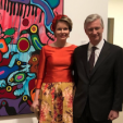 Queen Mathilde and King Philippe in Canada