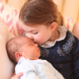 Prince Louis and Princess Charlotte of Cambridge