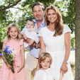 Princess Madeleine and family