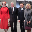 The King and Queen of Belgium with the French Presidential Couple