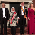 The Dutch King and Queen with the Presidential Couple of Singapore