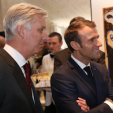 King Philippe and President Macron