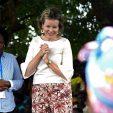 - La Reine Mathilde effectue une visite au Mozambique en sa qualité de Défenseur des Objectifs de développement durable (SDGs) des Nations Unies.  - De Koningin Mathilde brengt een werkbezoek aan Mozambique in haar hoedanigheid van Pleitbezorger van de Duurzame Ontwikkelingsdoelstellingen (SDG's) van de Verenigde Naties.    * DzinDzine / Visit Water Desalinization project        05/02/2019 pict. by Didier Lebrun © Photo News via Getty Images)