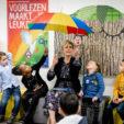 2020-01-22 09:10:21 ZOETERMEER - Prinses Laurentien leest voor in de Zoetermeerse bibliotheek tijdens het Nationaal Voorleesontbijt. Met het ontbijt worden de Nationale Voorleesdagen afgetrapt. ANP ROYAL IMAGES SEM VAN DER WAL