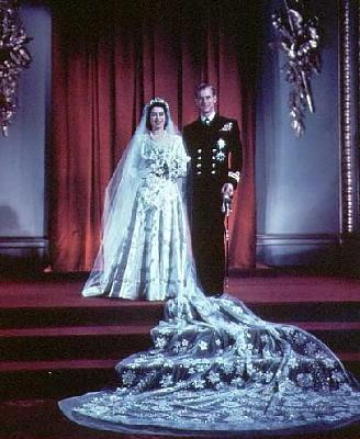 Click image for larger version  Name:Huwelijk Elizabeth II & Philip.jpg Views:586 Size:40.2 KB ID:179403